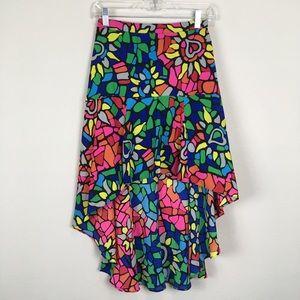 3 for $15 I Lamour kaleidoscope print skirt
